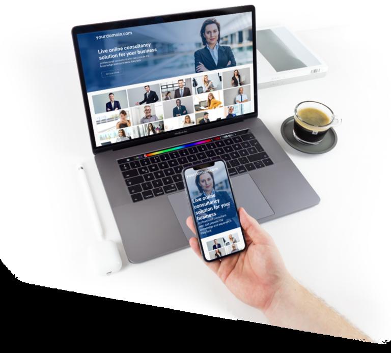 Online video consulting platform