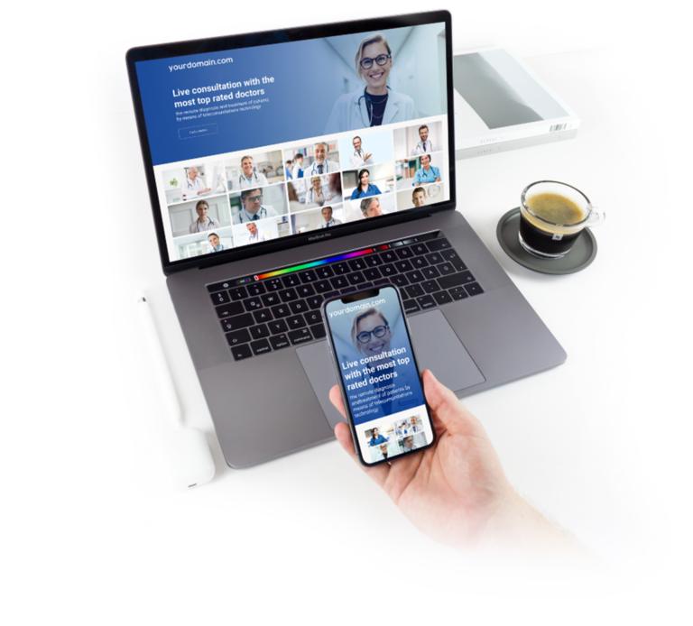 Online telemedicine platform for patients and doctors